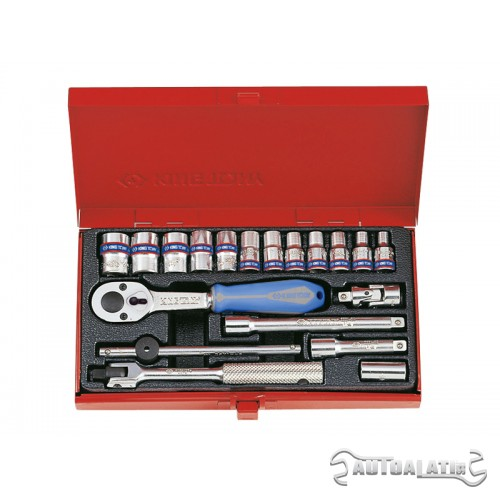 "Set gedora na 1/4"" od 19 komada 12 uglova 2021MR"