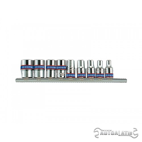 "Set gedora na 1/4"" 4-13mm 6 uglova od 9 komada 2509MR"