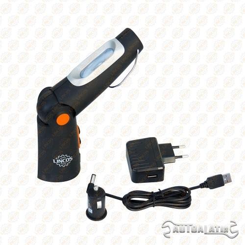 LED lampa, 6+1 SMD LED