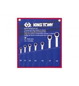 Set okasto-vilastih brzih ključeva od 7 komada 12107MRN
