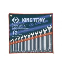 Set okasto-vilastih ključeva od 12 komada 8-22mm 1212MR