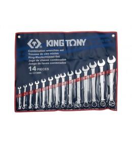 Set okasto-vilastih ključeva od 14 komada 8-24mm 1215MR