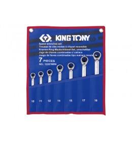 Set okasto-vilastih brzih ključeva od 7 komada pod uglom 12207MR