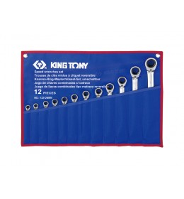 Set okasto-vilastih brzih ključeva od 12 komada pod uglom 12212MRN
