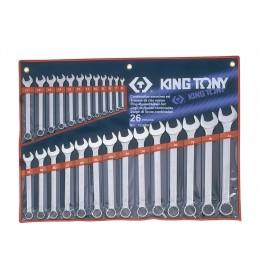 Set okasto-vilastih ključeva od 26 komada 6-32mm 1226MR