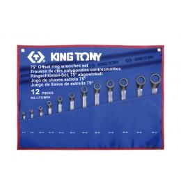 Set okasto-okastih ključeva od 12 komada 6-32mm 1712MRN