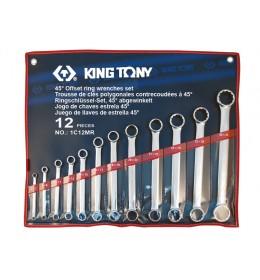 Ravno okasti set ključeva od 12 komada 6-32mm 1C12MR