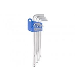 Produženi L imbus ključ set od 9 komada sa kuglom 20109MR