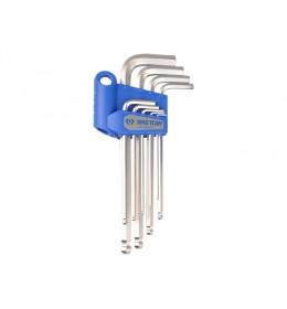 Produženi L imbus ključ set od 9 komada sa kuglom colovni 20129SR